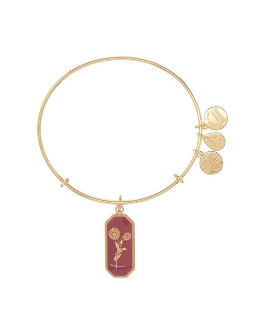 ALEX AND ANI - Metallic Medieval Blessing Wire Bangle - Lyst
