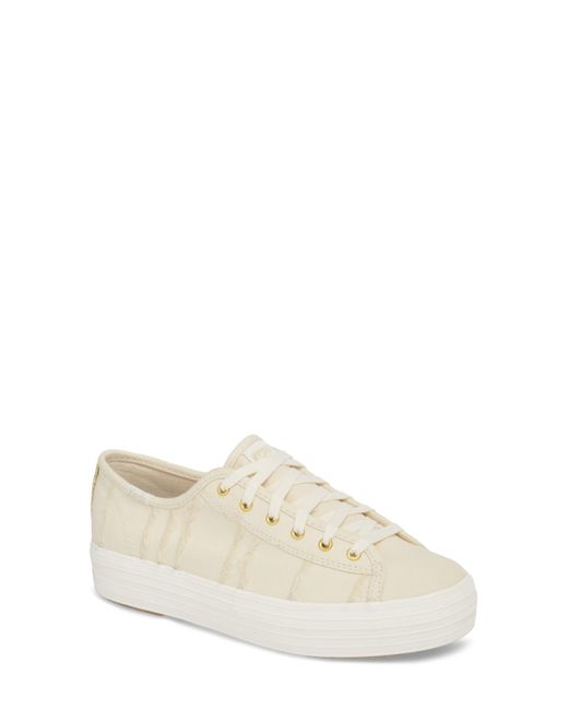 Keds - Natural (r) Triple Kick Canvas Sneaker (women) - Lyst
