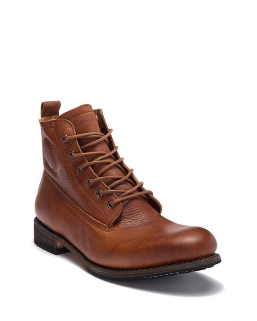 Blackstone - Brown Gm 10 Genuine Shearling Lined Lace-up City Boot for Men - Lyst