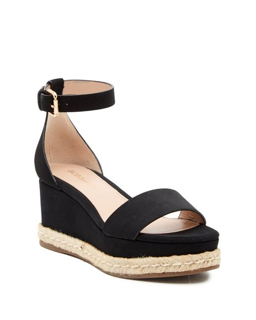 826353d1af4 Lyst - BCBGeneration Addie Espadrille Wedge Sandals in Black - Save 45%