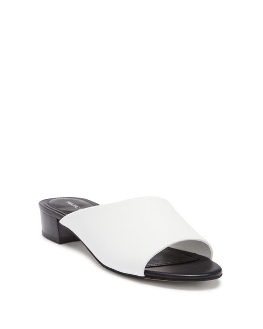 Marc Fisher - Multicolor Oditi Leather Heeled Mule - Lyst