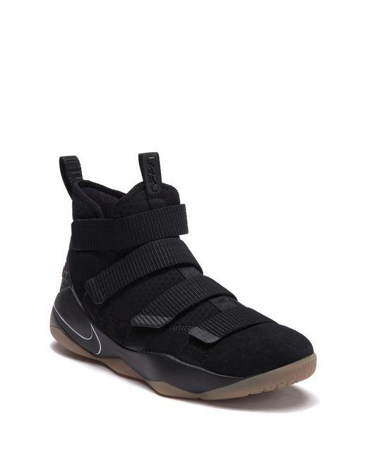 ba088b07af2 Nike - Black Lebron Soldier Xi Basketball Shoe for Men - Lyst ...