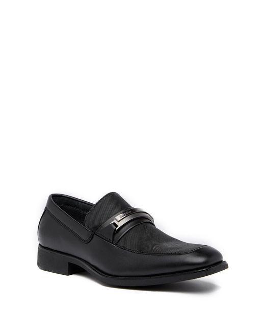 CALVIN KLEIN 205W39NYC - Black Ervin Slip-in Bit Loafer for Men - Lyst