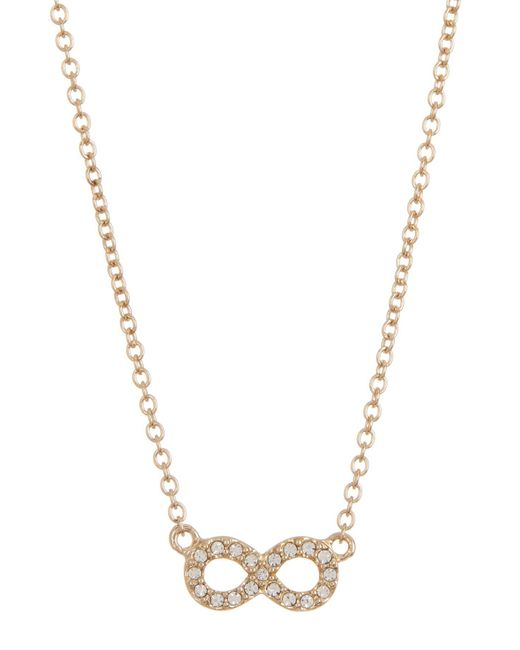 Judith Jack - Metallic 10k Gold Plated Sterling Silver Mini Motives Boxed Reversible Infinity Pendant Necklace - Lyst