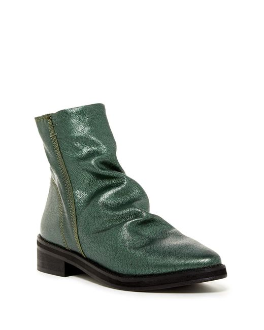 Free People | Green Amarone Ankle Boot | Lyst