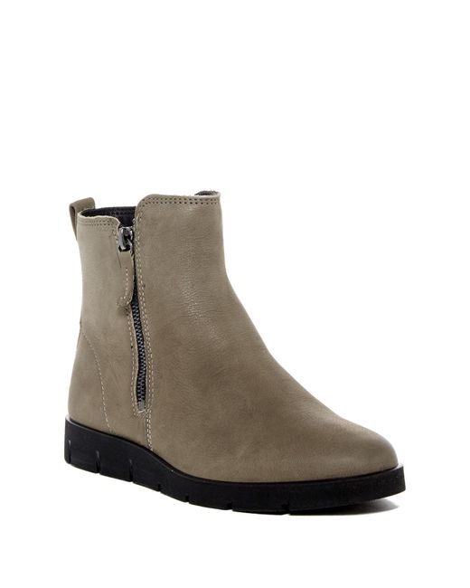 Ecco | Gray Bella Zip Boot | Lyst
