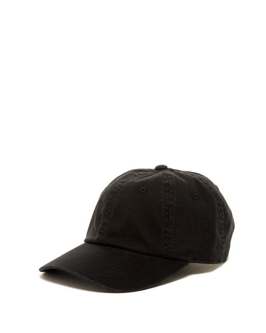 American Needle - Black Washed Slouch Baseball Cap for Men - Lyst