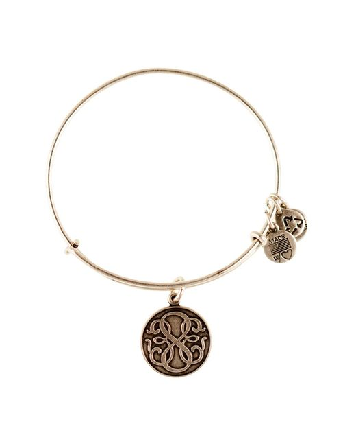 ALEX AND ANI - Metallic Path Of Life Expandable Wire Bangle - Lyst