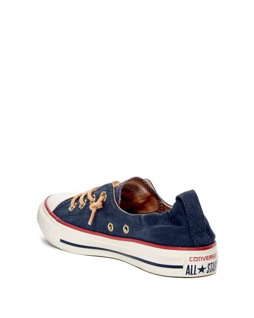 e4eeae66701d ... Converse - Blue Chuck Taylor All Star Peached - Shoreline Low Top Slip-on  Sneaker ...