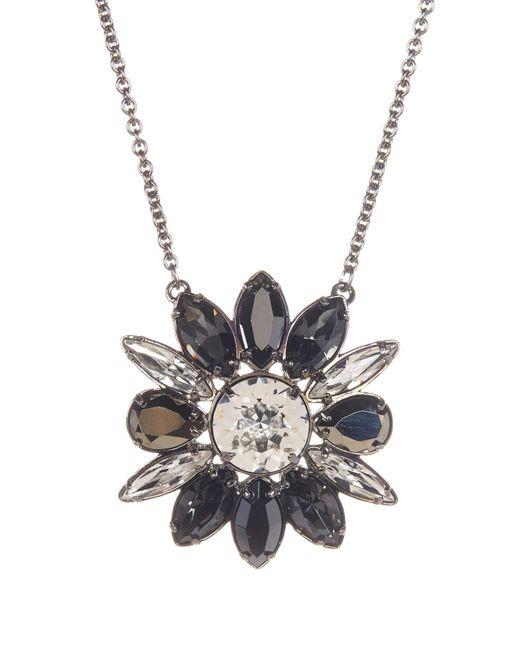 Swarovski | Multicolor Crystal Shourouk Pendant Necklace | Lyst