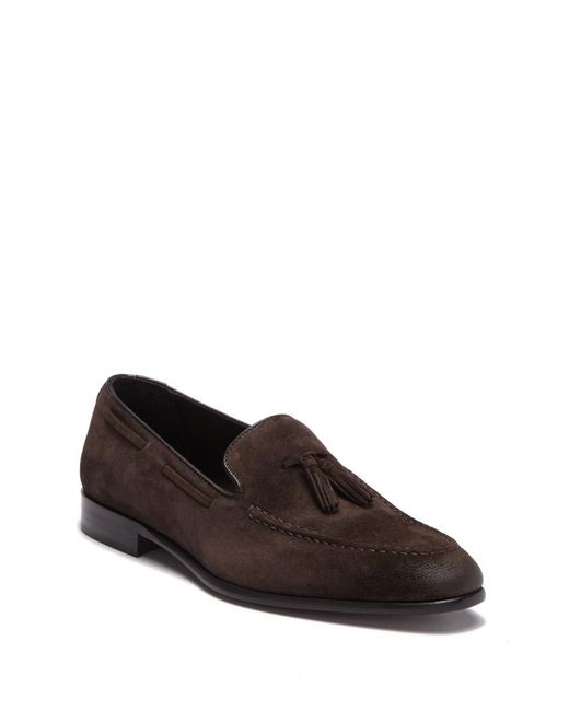 Bruno Magli - Brown Doc Apron Toe Loafer for Men - Lyst