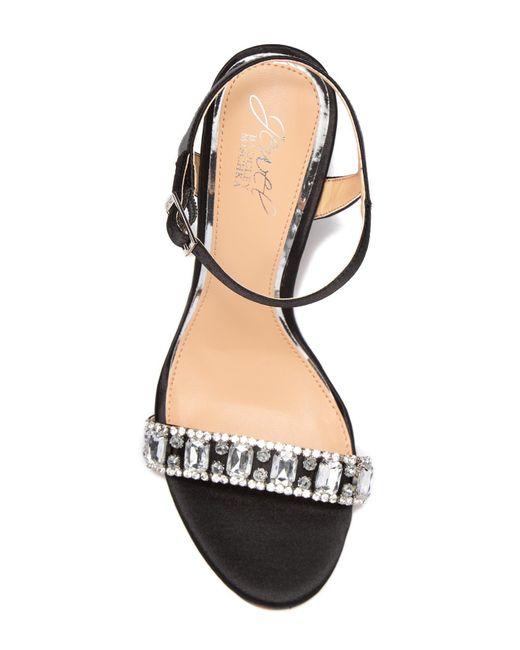 b5c46d594a4 ... Badgley Mischka - Multicolor Hendricks Embellished Block Heel Sandal -  Lyst ...