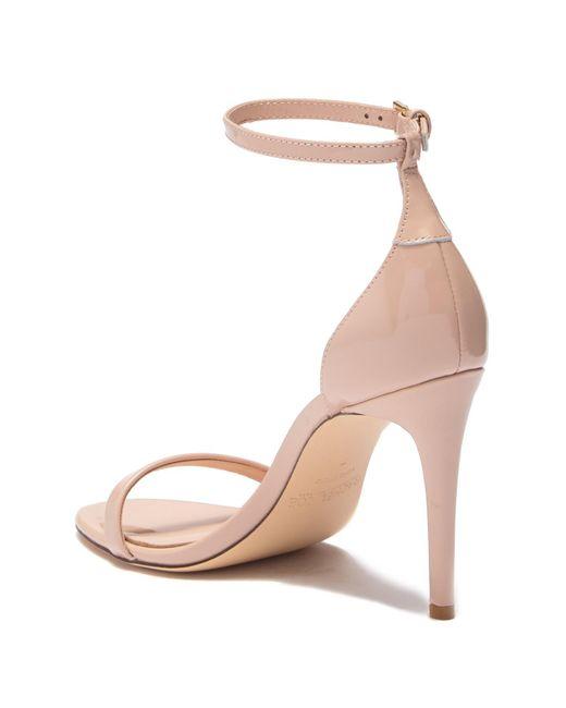 418f18d94b6fd1 ... Rachel Zoe - Natural Ema Patent Leather Stiletto Sandal - Lyst ...