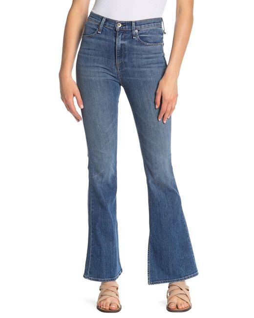 Rag & Bone - Blue Bella Bootcut Jeans - Lyst