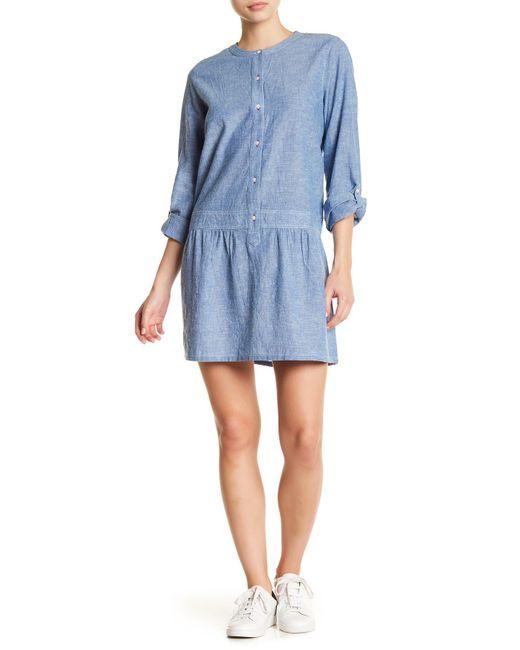 Soft Joie - Blue Amiri Long Sleeve Dress - Lyst