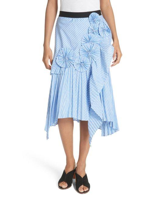 Joie - Blue Edericka Skirt - Lyst