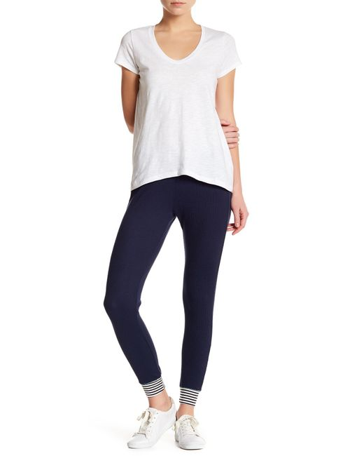 Splendid | Blue Thermal Pant | Lyst