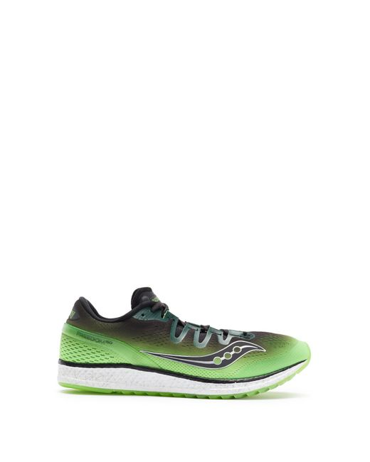 4e8eb9ad564 Lyst - Saucony Freedom Iso Running Sneaker in Green for Men - Save 54%