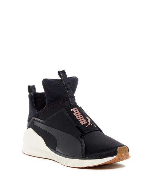d7a672e3a3b6b7 Lyst - PUMA Fierce Vr Wn Sneaker in Black - Save 16.949152542372886%