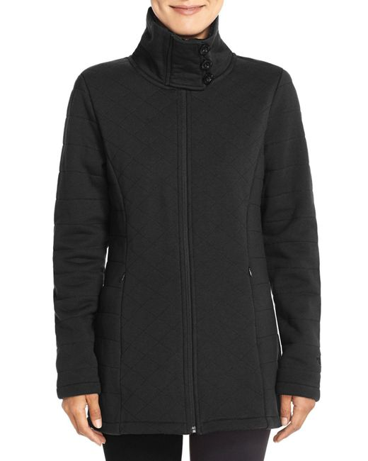 The North Face - Black Caroluna Fleece Jacket - Lyst