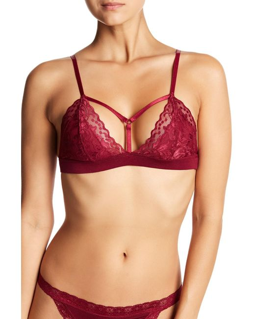 Pj Salvage - Red Lily Leisure Bralette - Lyst