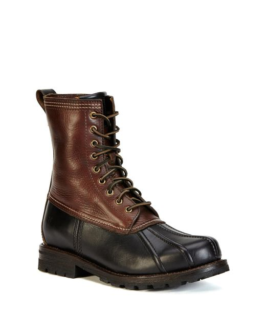 Frye | Brown Veronica Duck Boot | Lyst