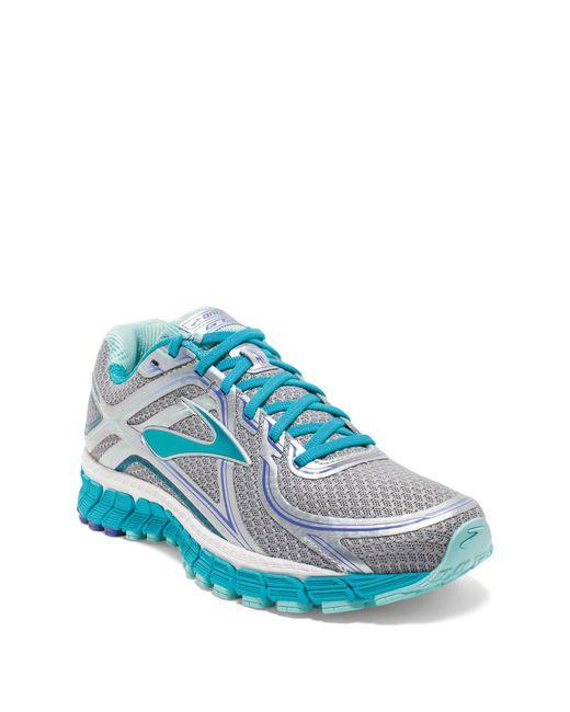 View Fullscreen Brooks Blue Women S Adrenaline Gts  Running Shoes