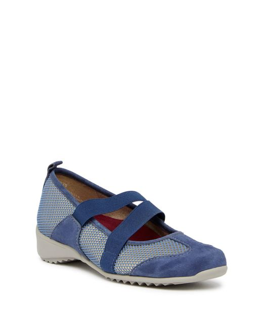 Munro - Blue Zip Slip-on Sneaker - Multiple Widths Available - Lyst