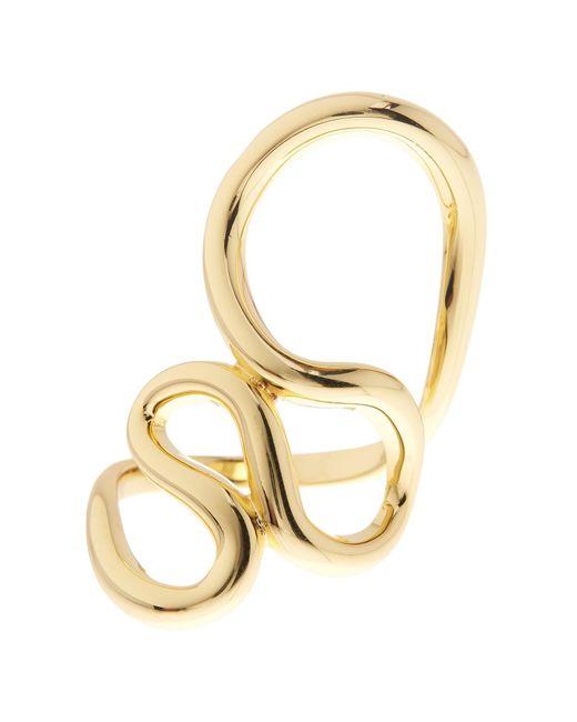 Ariella Collection | Metallic Serpentine Cutout Ring | Lyst