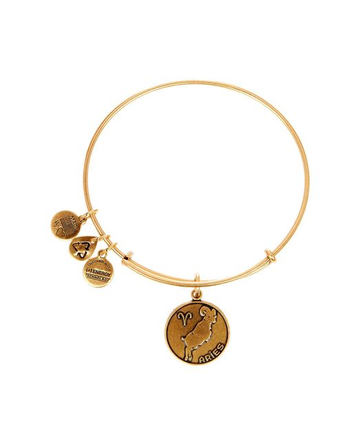 ALEX AND ANI - Metallic Aries Ii Expandable Wire Bangle - Lyst