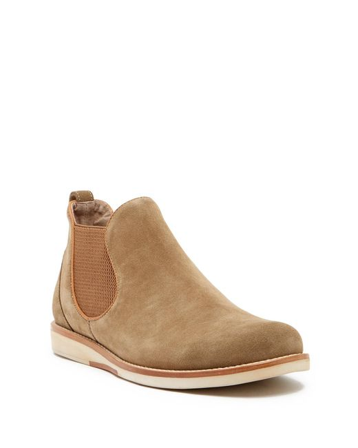 John Varvatos - Brown Brooklyn Grandfather Chelsea Boot for Men - Lyst