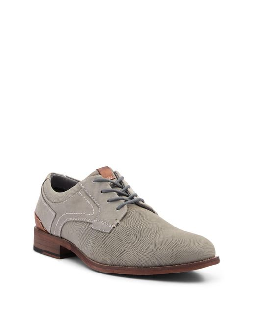 Steve Madden - Gray Mychel Plain Toe Derby for Men - Lyst
