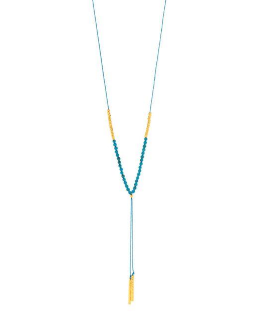 Gorjana - Metallic Power Healing Gemstone Necklace - Lyst