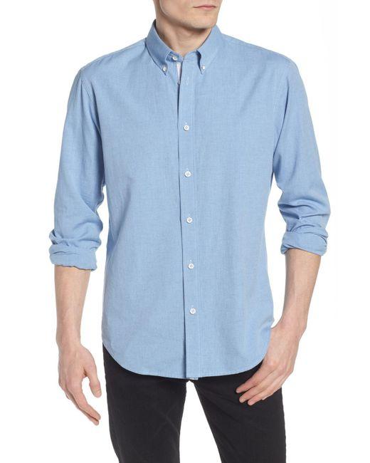 Rag & Bone - Blue Tomlin Slim Fit Sport Shirt for Men - Lyst