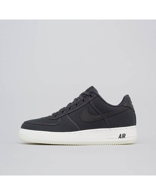 official photos 5670c 1b615 Nike - Air Force 1 Low Retro Canvas In Black for Men - Lyst ...