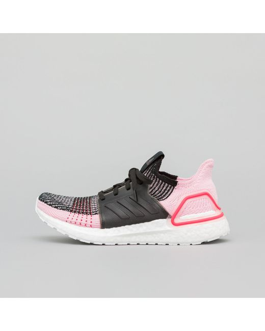 68fa840c56ef Lyst - adidas Women s Ultraboost 19 In Core Black orchid Tint red in ...
