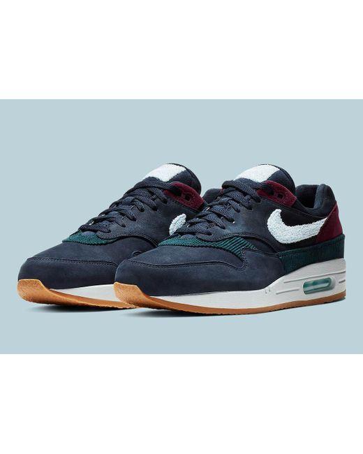 buy online 33439 d1e7c Nike - Blue Air Max 1