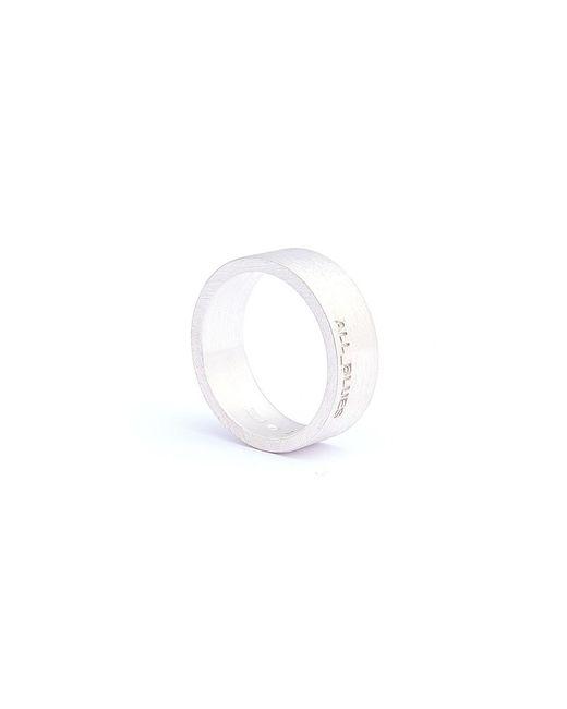 All_blues | Metallic Flat 8mm Ring for Men | Lyst