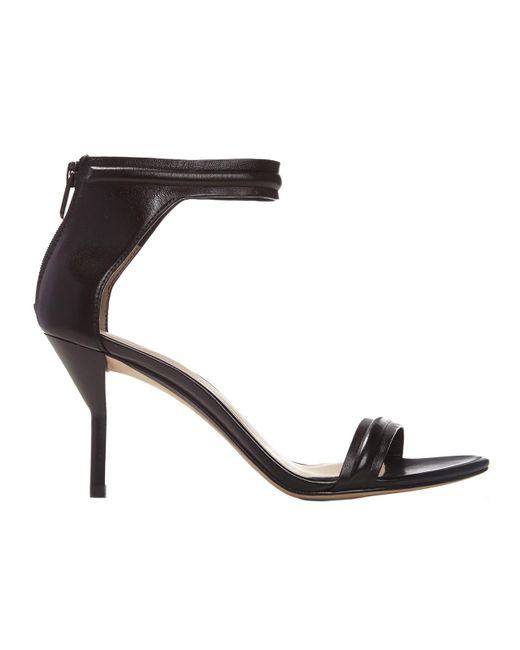 3.1 Phillip Lim - Black Martini Mid Heel Sandal - Lyst