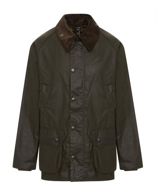 3d541c1e1123 Lyst - Barbour Beaufort Wax Jacket in Green for Men - Save 6%