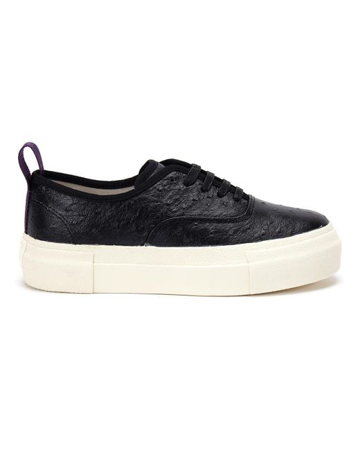 Eytys - 17ss Sneakers Mother Struzzo Black - Lyst