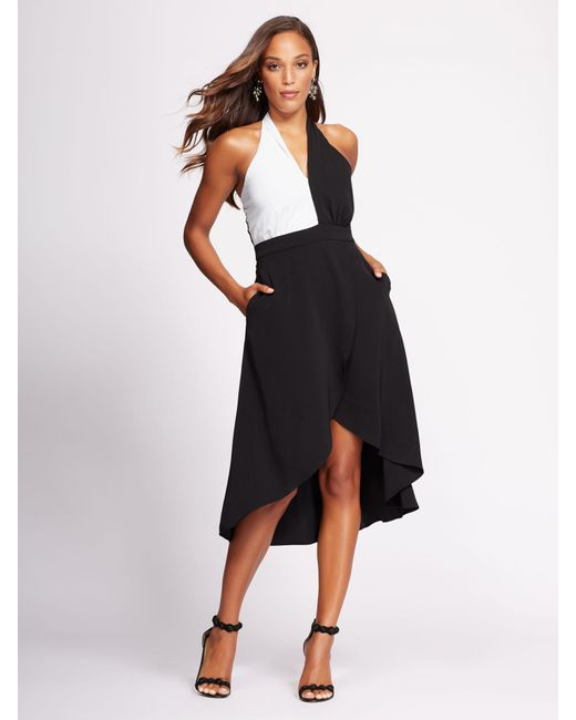 Lyst - New York & Company Gabrielle Union Collection - Black & White ...