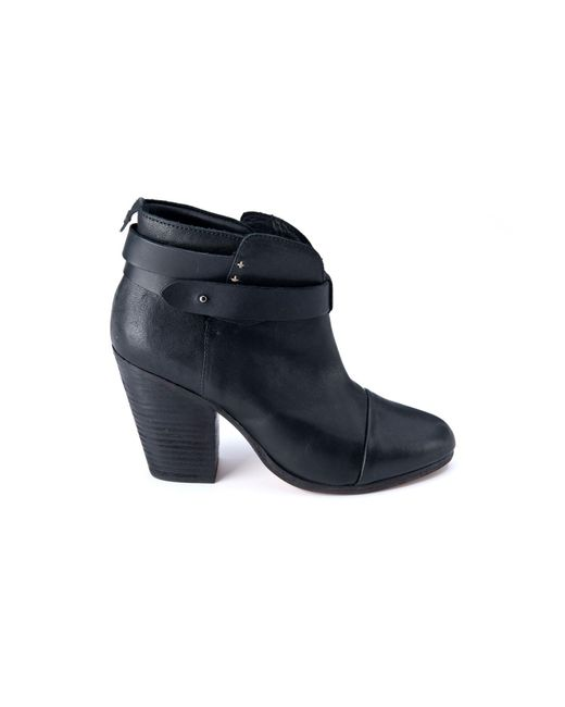 Rag & Bone | Black Harrow Boot | Lyst