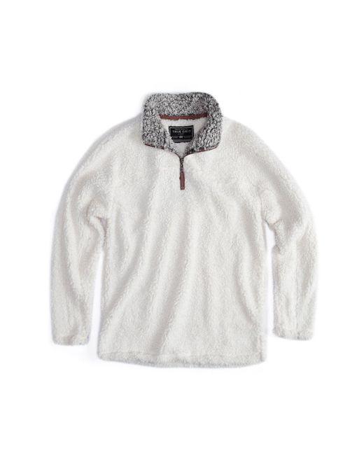 True Grit - White Frosty Tip Pullover for Men - Lyst