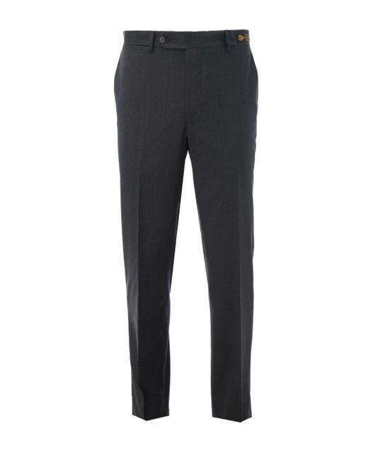 Samuelsohn - Gray Wool Trouser for Men - Lyst