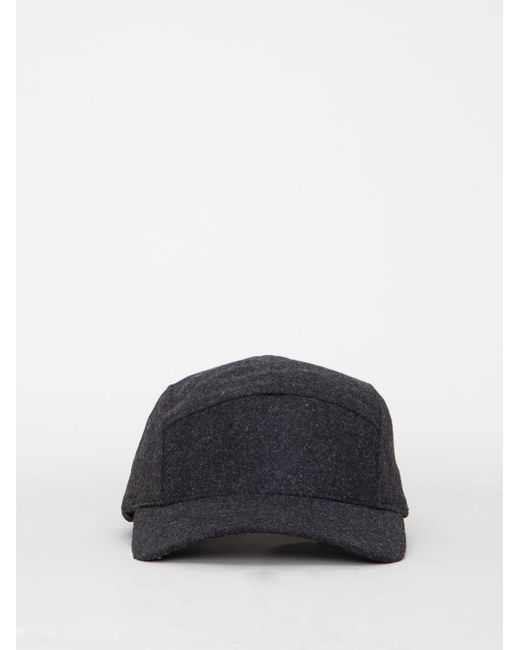 OAK - Blue Wool 5 Panel Hat for Men - Lyst ... 9ccb3afed614