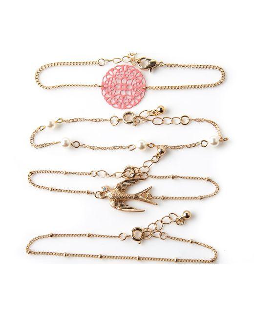 Oasis | Metallic Friendship Bracelet Pack | Lyst
