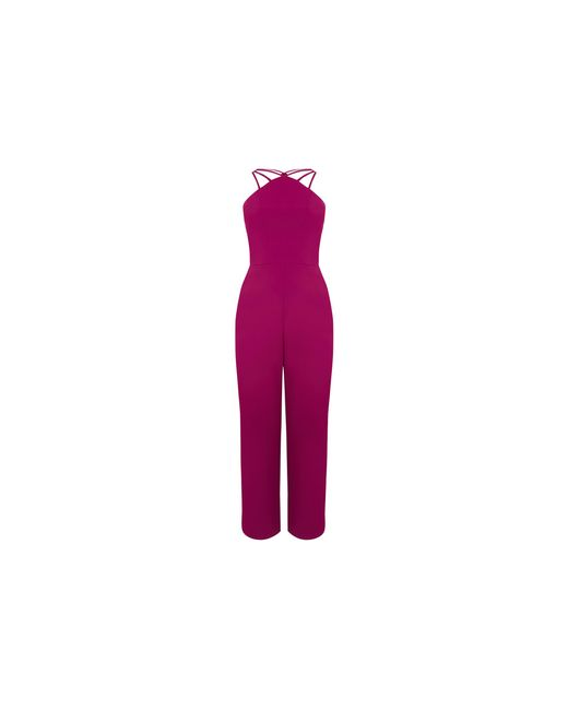 64feb96ca3b2 ... Oasis - Pink Strappy Jumpsuit - Lyst ...
