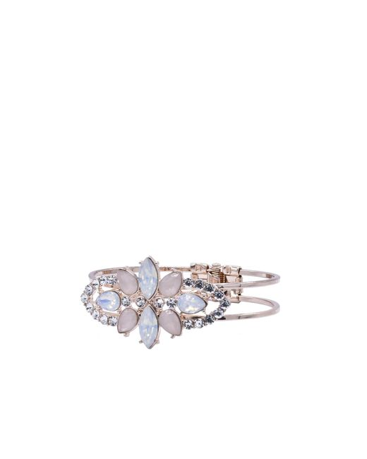 Oasis | Multicolor Hinged Jewelled Bracelet | Lyst