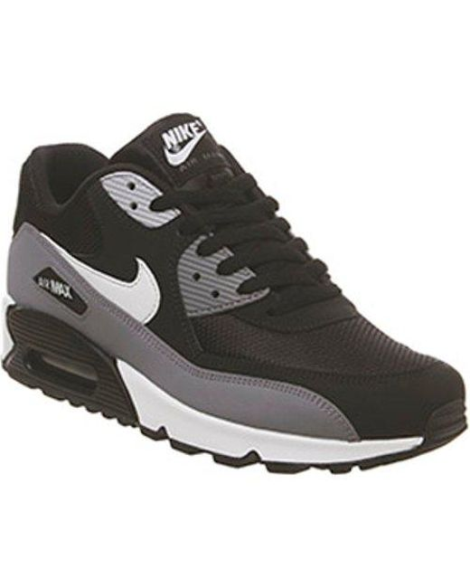 71dabdf6c9706b Nike Air Max 90 Te in Black for Men - Save 19.67213114754098% - Lyst